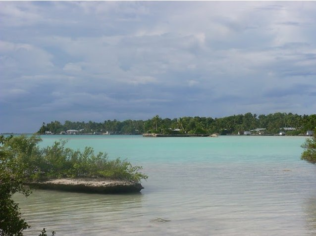 Photo Nukunonu Tokelau islands group situated
