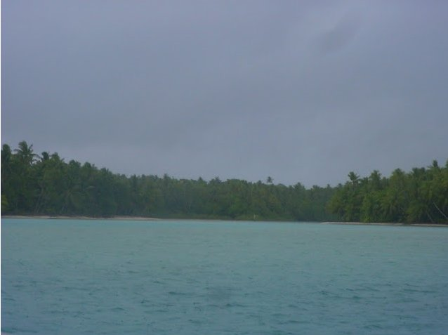 Photo Nukunonu Tokelau islands group between