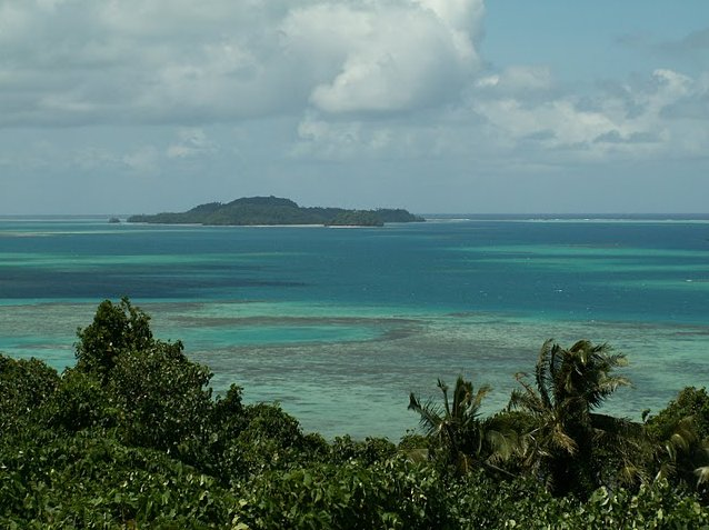 Photo Wallis and Futuna islands towards