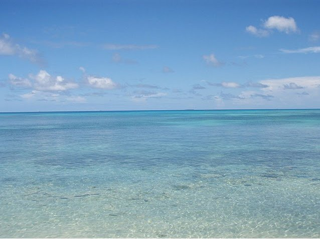 Photo Photos from Funafuti atoll of Tuvalu travelled