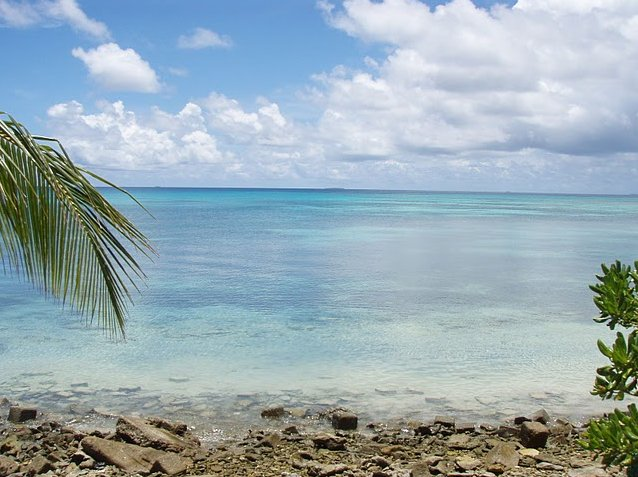 Photo Photos from Funafuti atoll of Tuvalu International
