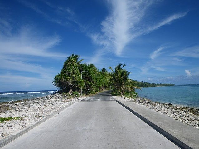 Photo Photos from Funafuti atoll of Tuvalu majority