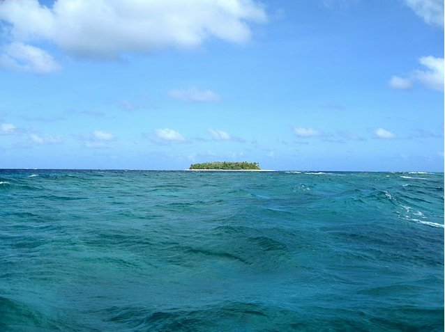 Photo Photos from Funafuti atoll of Tuvalu stayed