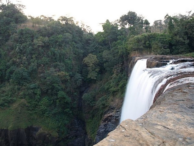 Kinkon Falls and Kambadaga Falls Pita Guinea Vacation Picture