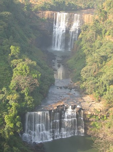 Photo Kinkon Falls and Kambadaga Falls Kambadaga