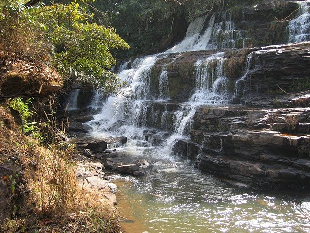 Photo Kinkon Falls and Kambadaga Falls located