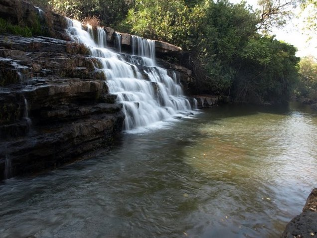 Photo Kinkon Falls and Kambadaga Falls Region