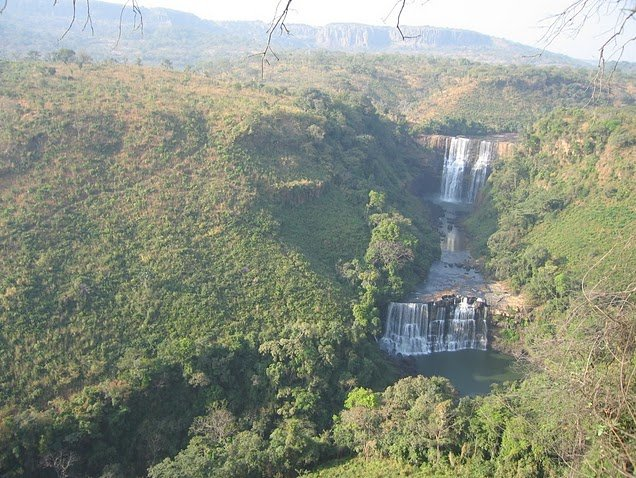 Photo Kinkon Falls and Kambadaga Falls referred