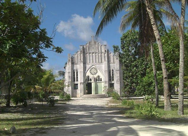 Kiribati Island pictures Bairiki Vacation Photo