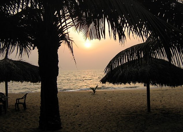 Beaches in Monrovia Liberia Trip Photographs