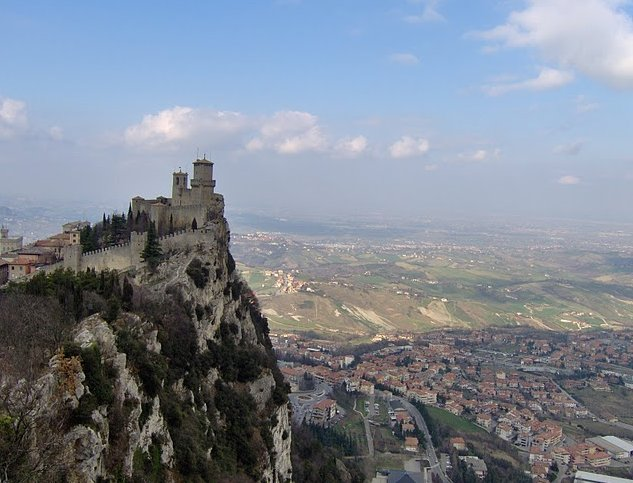 San Marino Italy tourist attractions City of San Marino Diary Photo