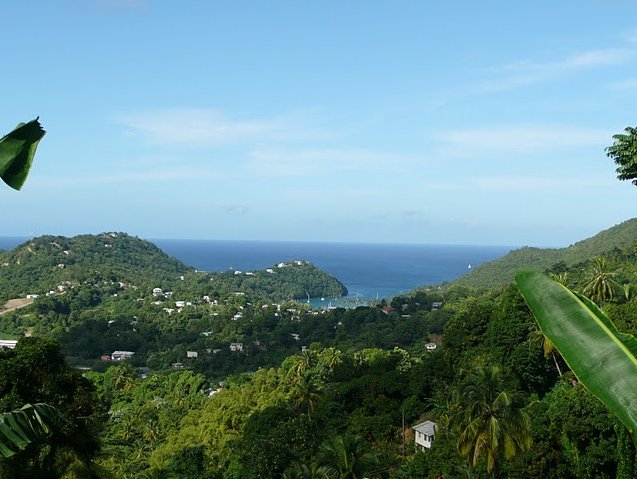 Photo Saint Lucia island pictures hikers