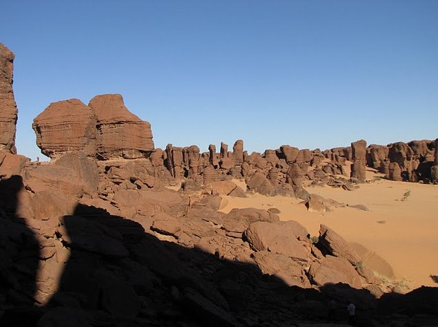 Ennedi Desert Safari in Chad Photographs