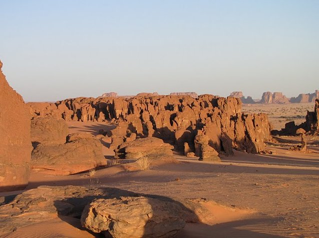 Ennedi Desert Safari in Chad Album Photographs