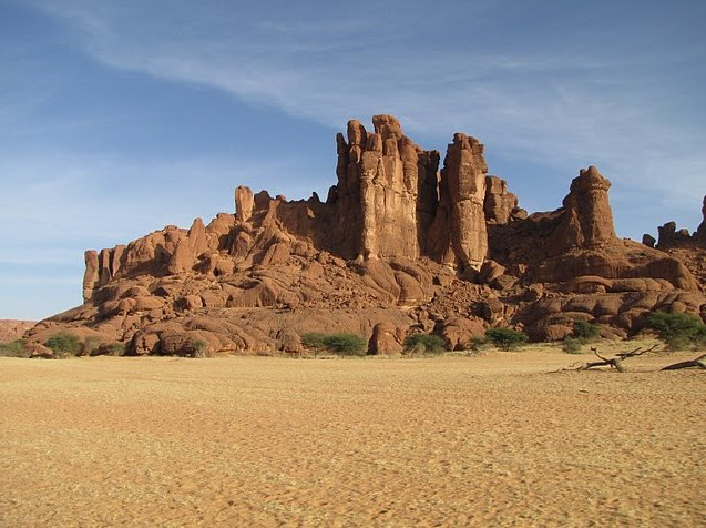 Ennedi Desert Safari in Chad Trip Pictures