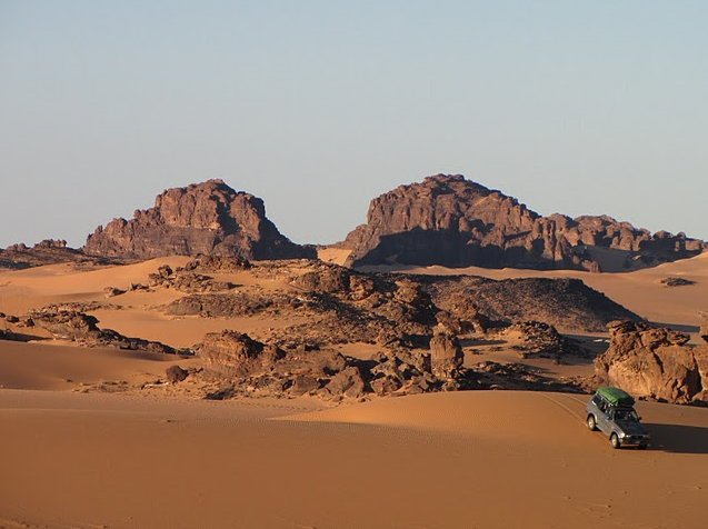 Ennedi Desert Safari in Chad Diary Pictures
