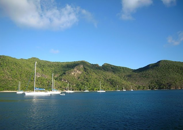 Photo Saint Vincent and the Grenadines sailing covering
