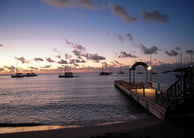 Photo Saint Vincent and the Grenadines sailing Mayreau