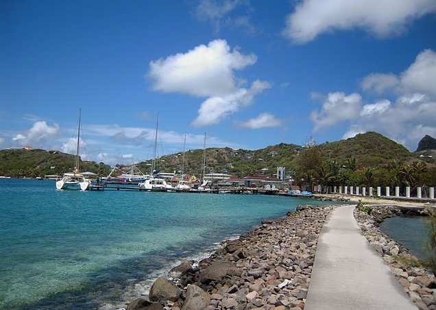 Photo Saint Vincent and the Grenadines sailing Tobago