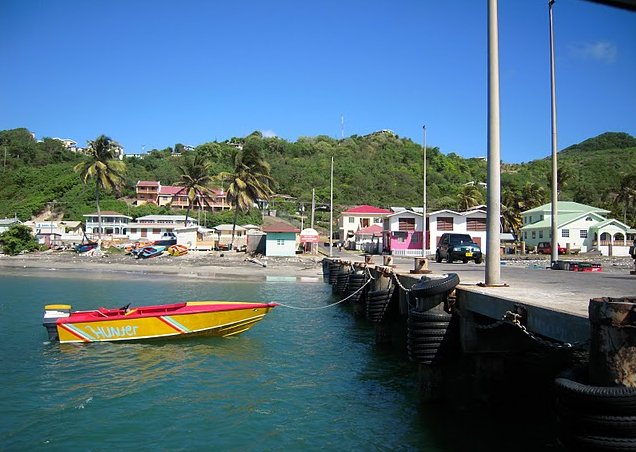 Saint Vincent and the Grenadines sailing Kingstown Diary Pictures