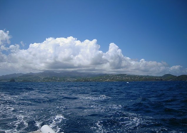 Photo Saint Vincent and the Grenadines sailing waters