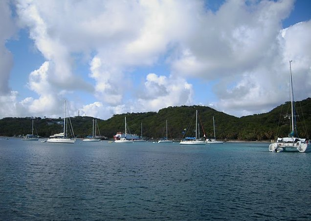 Photo Saint Vincent and the Grenadines sailing everywhere