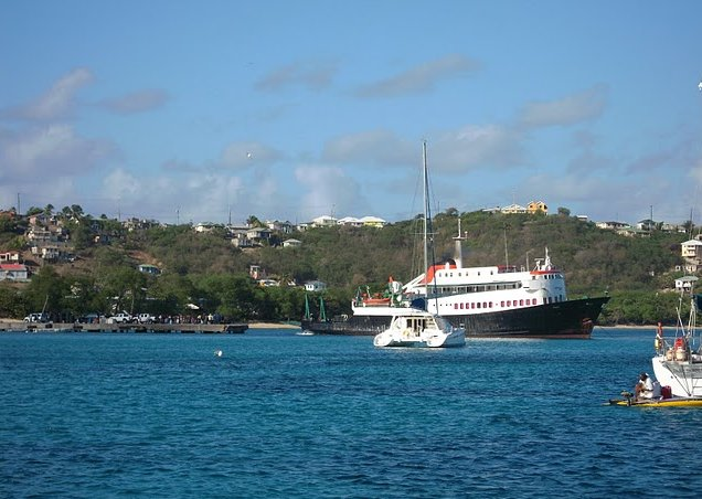 Photo Saint Vincent and the Grenadines sailing island