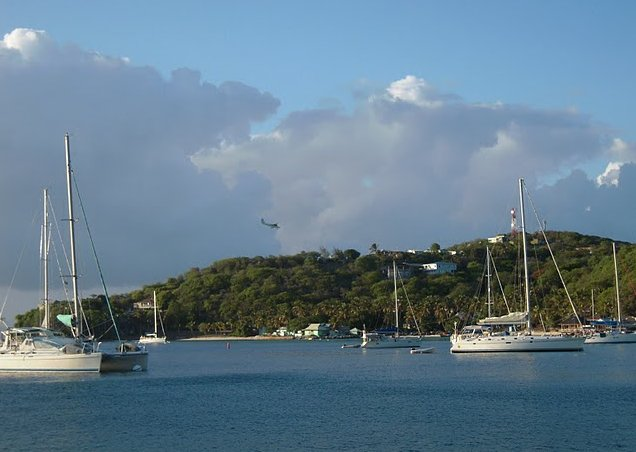 Saint Vincent and the Grenadines sailing Kingstown Vacation Diary