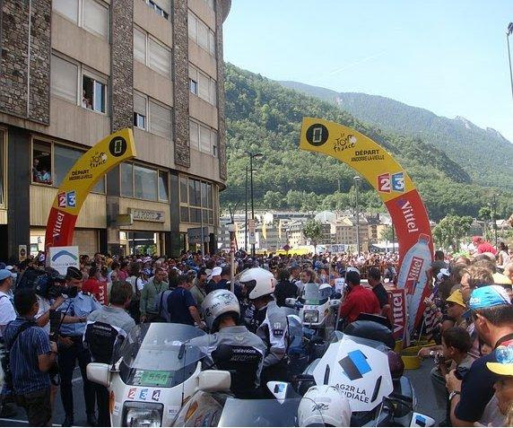 Tour de France 2009 Andorra la Vella Experience