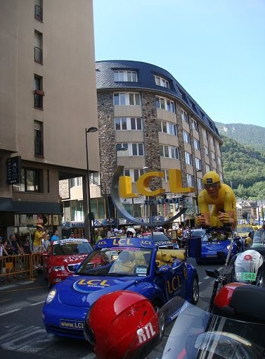 Tour de France 2009 Andorra la Vella Travel Blog