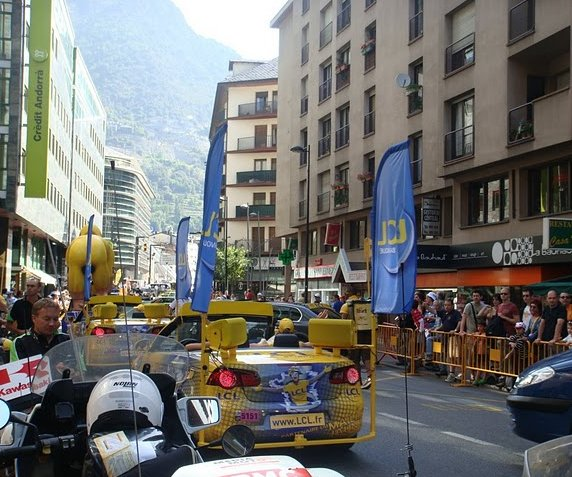 Tour de France 2009 Andorra la Vella Blog Photo
