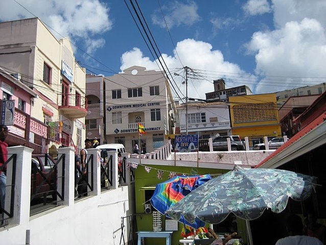 Grenada Island pictures St Georges Blog Adventure