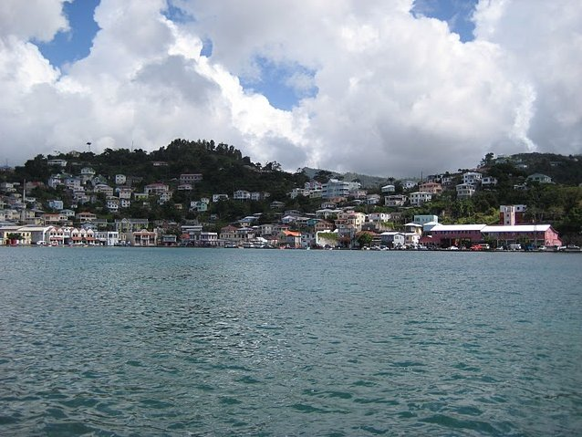 Grenada Island pictures St Georges Diary Information