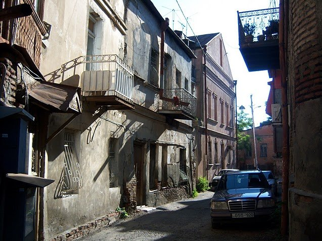 Old Tbilisi photos Georgia Diary Information