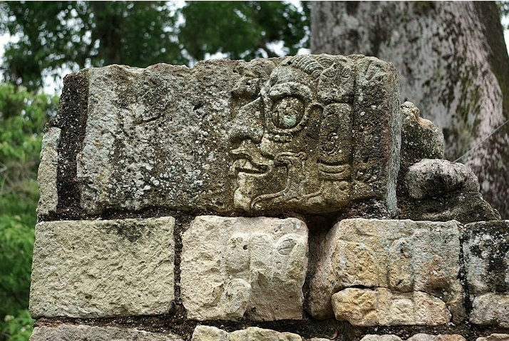 Photo Mayan ruins in Honduras popular