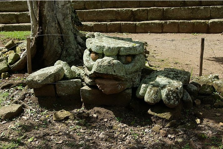 Mayan ruins in Honduras Copan Photography
