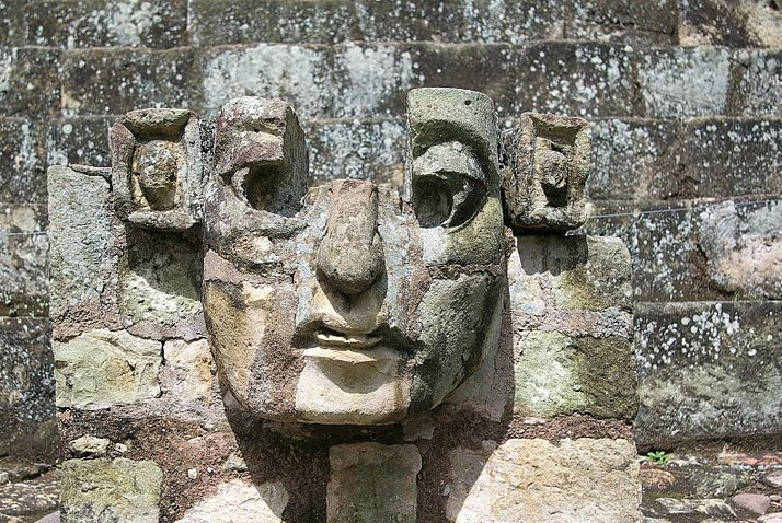 Photo Mayan ruins in Honduras located