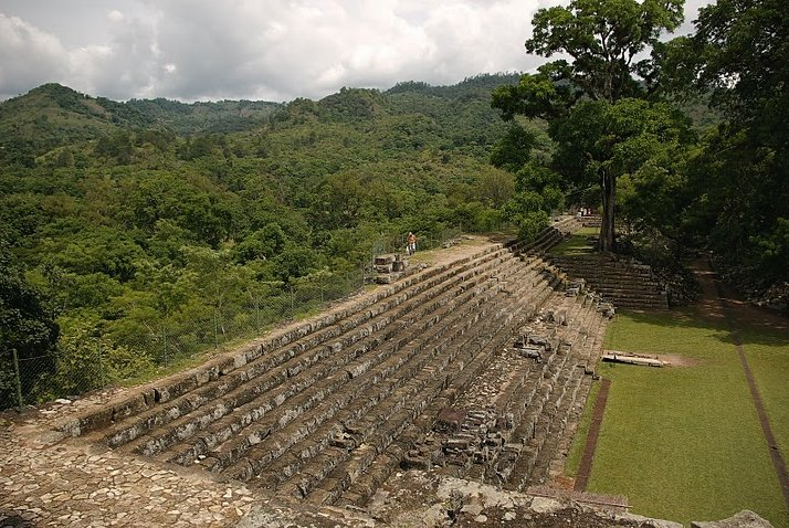 Photo Mayan ruins in Honduras border
