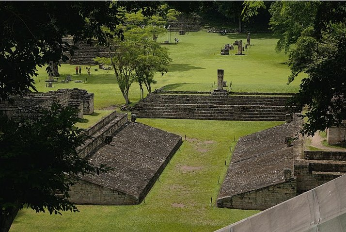 Photo Mayan ruins in Honduras ancient