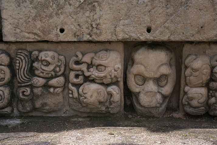 Mayan ruins in Honduras Copan Blog Sharing