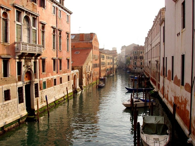 Romantic Trip to Venice in Italy Holiday Photos