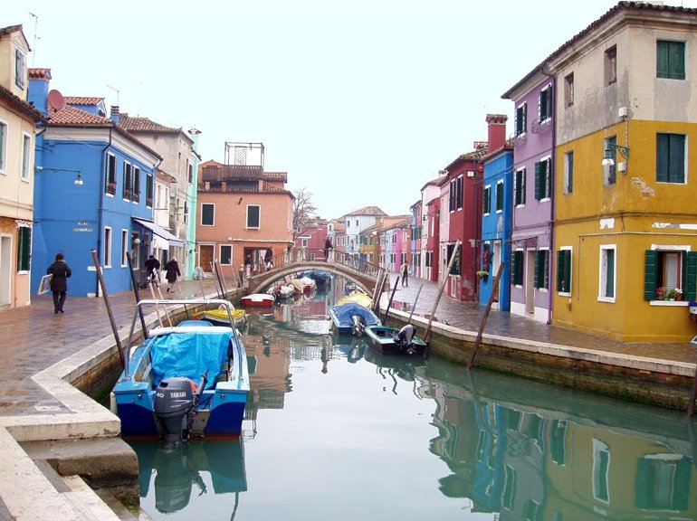 Photo Pictures of Venice Italy streets