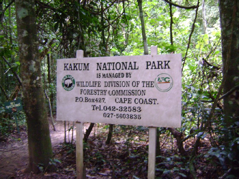 Kakum National Park Cape Coast Ghana Information