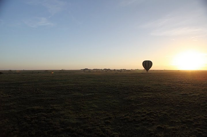 Balloon safari Serengeti Karatu Tanzania Diary Adventure