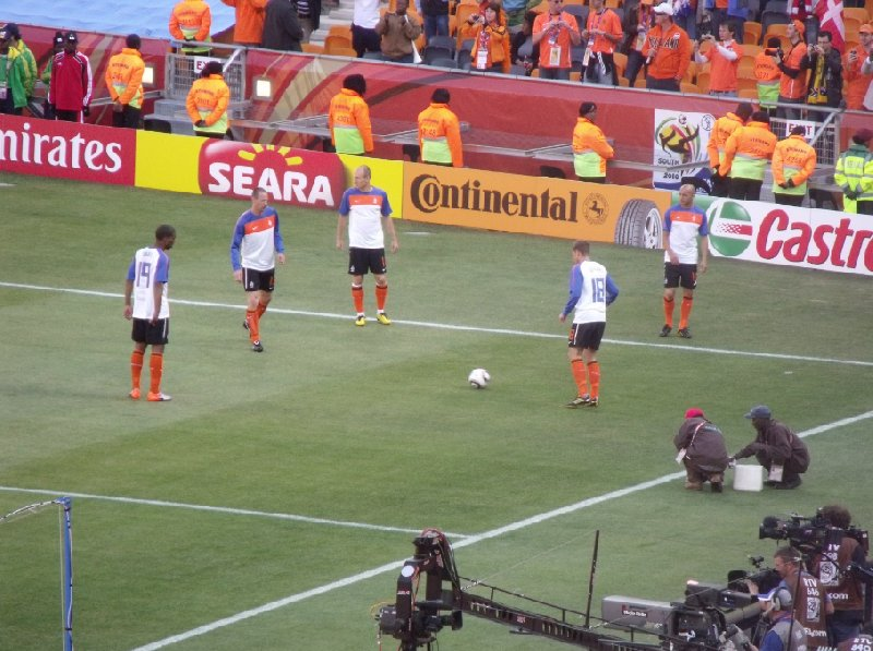 Photo South Africa World Cup 2010 orange