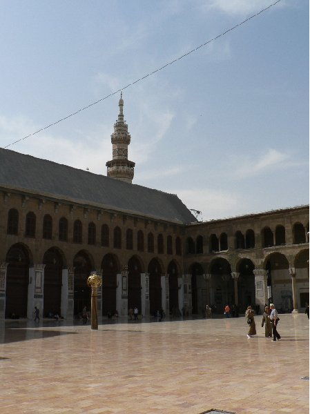 Photo Damascus tourist attractions through