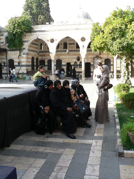 Photo Damascus tourist attractions Mosque