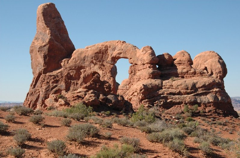 Photo Arches National Park states