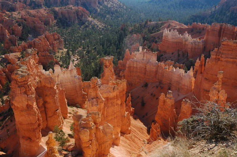Photo Bryce Canyon National Park located