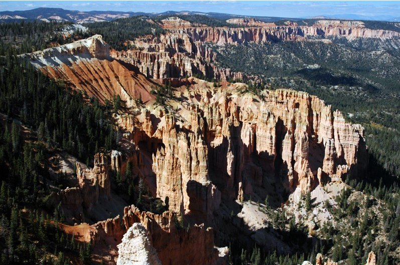 Photo Bryce Canyon National Park rockformations